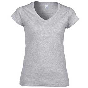 Softstyle® Ladies´ V-Neck