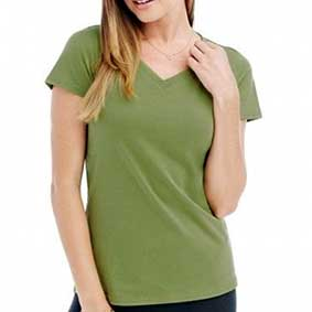 Womens Janet V-Neck-T