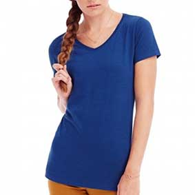 Womens Sharon V-Neck-T