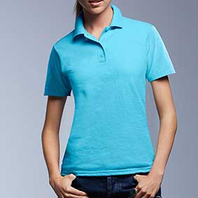 Women´s Double Piqué Polo