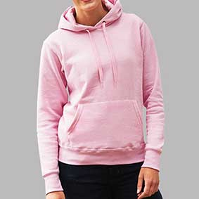 fruit_Lady-Fit Classic Hooded Sweat